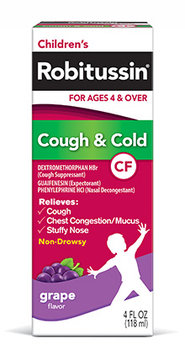 Children's Robitussin® Cough and Cold CF