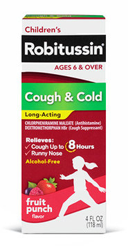 Children's Robitussin® Cough and Cold Long-Acting