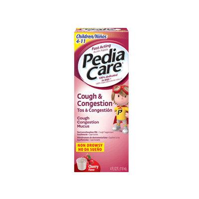 PediaCare Cough & Congestion Cherry Flavor
