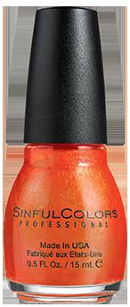 SINFULCOLORS® Nail Polish Courtney Orange