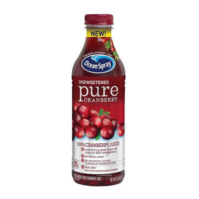 Ocean Spray® Unsweetened 100% Pure Cranberry Juice
