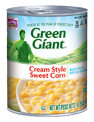 Green Giant® Cream Style Sweet Corn Can