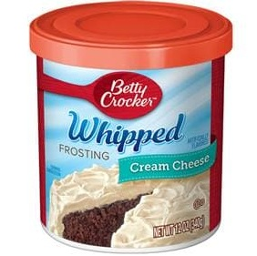 Betty Crocker™ Whipped Cream Cheese Frosting