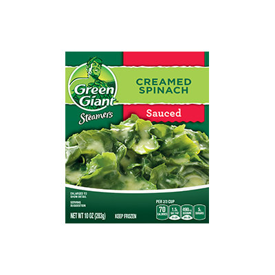 Green Giant® Steamers Creamed Spinach