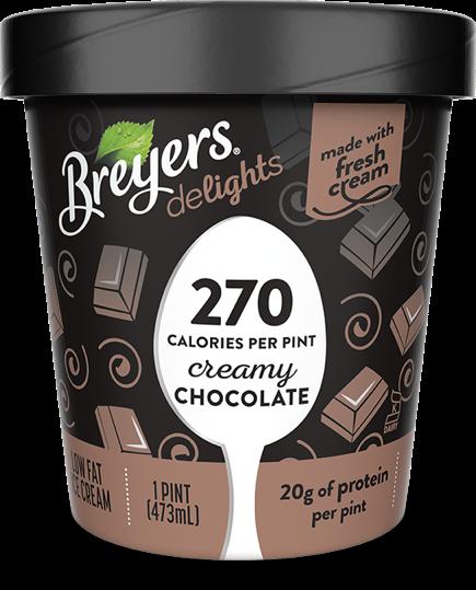 Breyers® Delights Creamy Chocolate