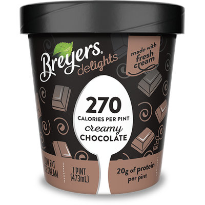 Breyers® Delights Creamy Chocolate