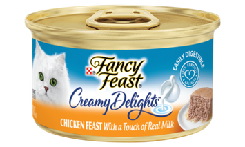 Fancy Feast® Creamy Delights Chicken Cat Food With A Touch Of Real Milk