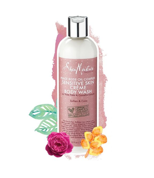 SheaMoisture Peace Rose Oil Complex Sensitive Créme Body Wash