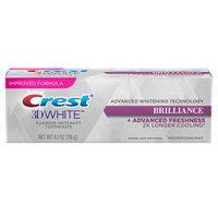 Crest 3D White Brilliance Mesmerizing Mint Whitening Toothpaste