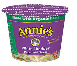 Annie's®  White Cheddar Microwavable Mac & Cheese Cup