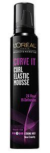 L'Oréal Paris Advanced Hairstyle CURVE IT Elastic Curl Mousse