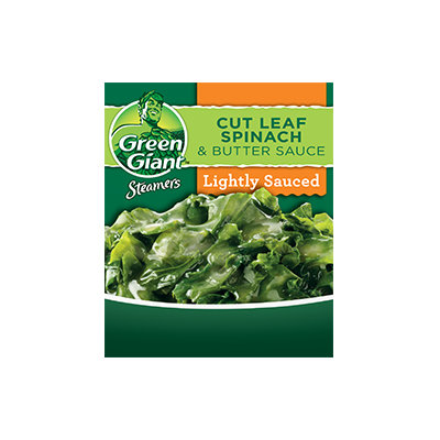 Green Giant® Steamers Cut Leaf Spinach & Butter Sauce