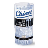 Chinet® Cut Crystal® Cutlery