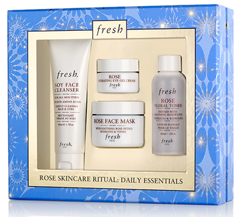 fresh Rose Skincare Ritual Daily Essentials