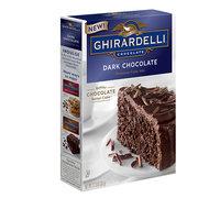 Ghirardelli Dark Chocolate Premium Cake Mix