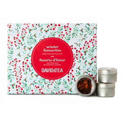 DAVIDsTEA Winter Favourites Set