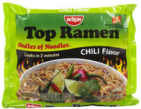 Nissin Chili Flavor Instant Soup, 3 oz, 24 ct