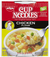 Nissin Chicken Flavor Soup, 2.25 oz, 12 ct