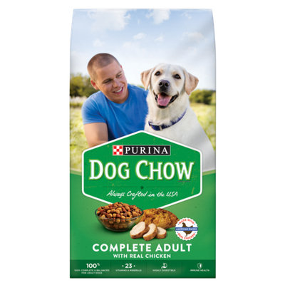PURINA® DOG CHOW® Complete Adult With Real American-Raised Chicken
