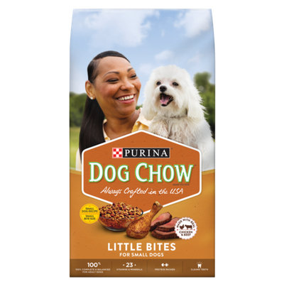 PURINA® DOG CHOW® Little Bites Made With Real Chicken And Beef