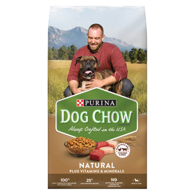 PURINA® DOG CHOW® Natural Plus Vitamins & Minerals