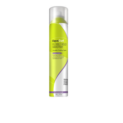 DevaCurl Flexible Hold Hair Spray, Touchable Finishing Styler