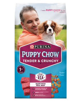 PURINA® PUPPY CHOW® Tender and Crunchy Puppy