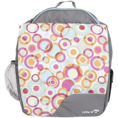 Diaper Dude Little D Grey W Circle Backpacks For Kids
