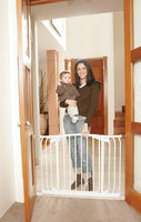 Dreambaby Chelsea Xtra Hallway Swing Closed Security Gate - White