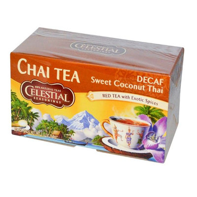 Celestial Seasonings® CHAI Tea DECAF Sweet Coconut Thai