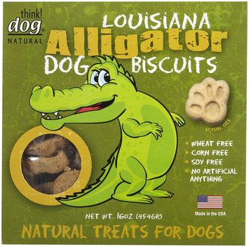 Thinkdog think! dog Louisana Alligator Biscuits Dog Treats