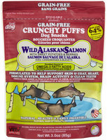 Think Dog Think! Dog Wild Alaskan Salmon with Sweet Pototoes & Berries Crunchy Puffs - 3oz