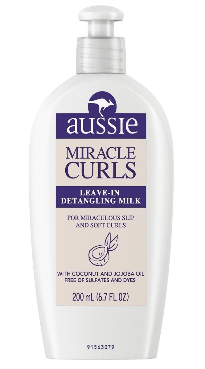 Aussie Miracle Curls Leave-In Detangling Milk