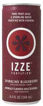 Izze Blackberry Cans, 8.4 oz, 24 pk