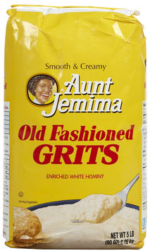 Quaker Grits Aunt Jemima Old Fashioned Bag, 80 oz