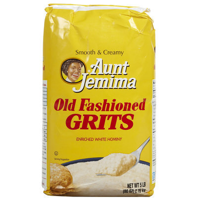 Quaker Grits Aunt Jemima Old Fashioned Bag, 80 oz