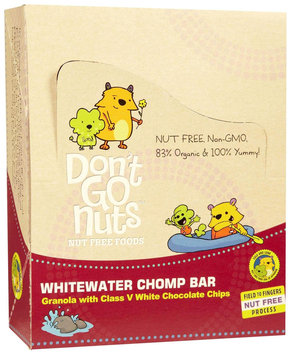 Dont Go Nuts Don't Go Nuts - Energy Bar Whitewater Chomp Granola & White Chocolate - 1.58 oz.