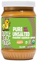 Dont Go Nuts Soy Butter Pure Unsalted 16 Oz Pack Of 6