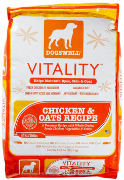 Dogswell Vitality Chicken & Oats Recipe