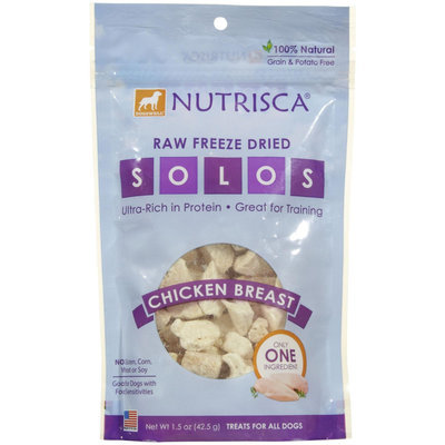 Dogswell Nutrisca Freeze Dried Chicken Breast SOLOS - 1.5 oz