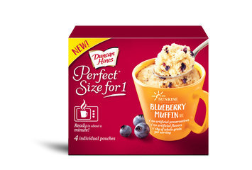 Duncan Hines Perfect Size for 1 Blueberry Muffin