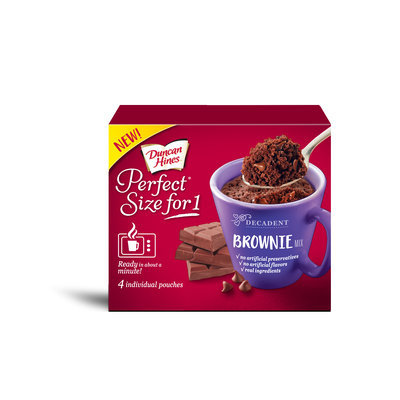 Duncan Hines Perfect Size For 1 Brownie Mix