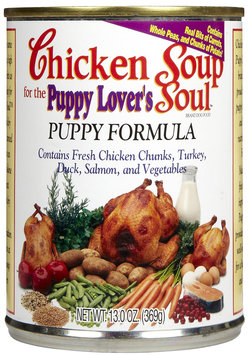 Chicken Soup for the Pet Lover's Soul Puppy - Chicken - 24 x 13 oz