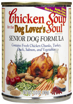 Chicken Soup for the Pet Lover's Soul Senior - Chicken - 24 x 13 oz