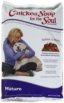 Chicken Soup For the Dog Lover's Soul Mature Formula Dry Food