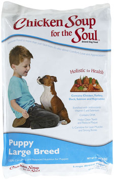 Chicken Soup for the Pet Lover's Soul Puppy - Large Breed - Chicken