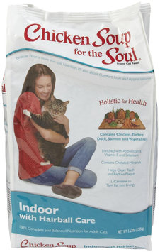 Chicken Soup for the Pet Lover's Soul Senior Cat Hairball Formula