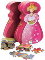 Djeco Princess & Frog Silhouette Puzzle (36 pc)
