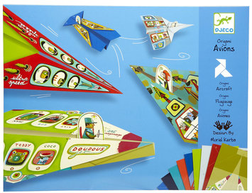 Djeco Origami Airplanes (20 pc) - 1 ct.