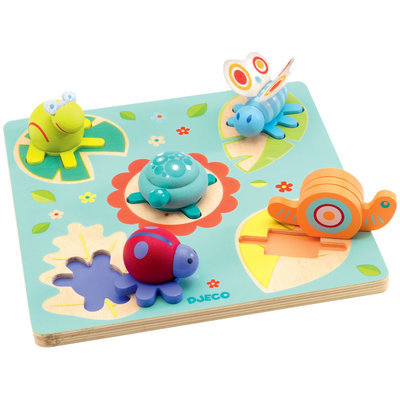 Hotaling Imports Djeco Lilo Wooden Puzzle - 1 ct.